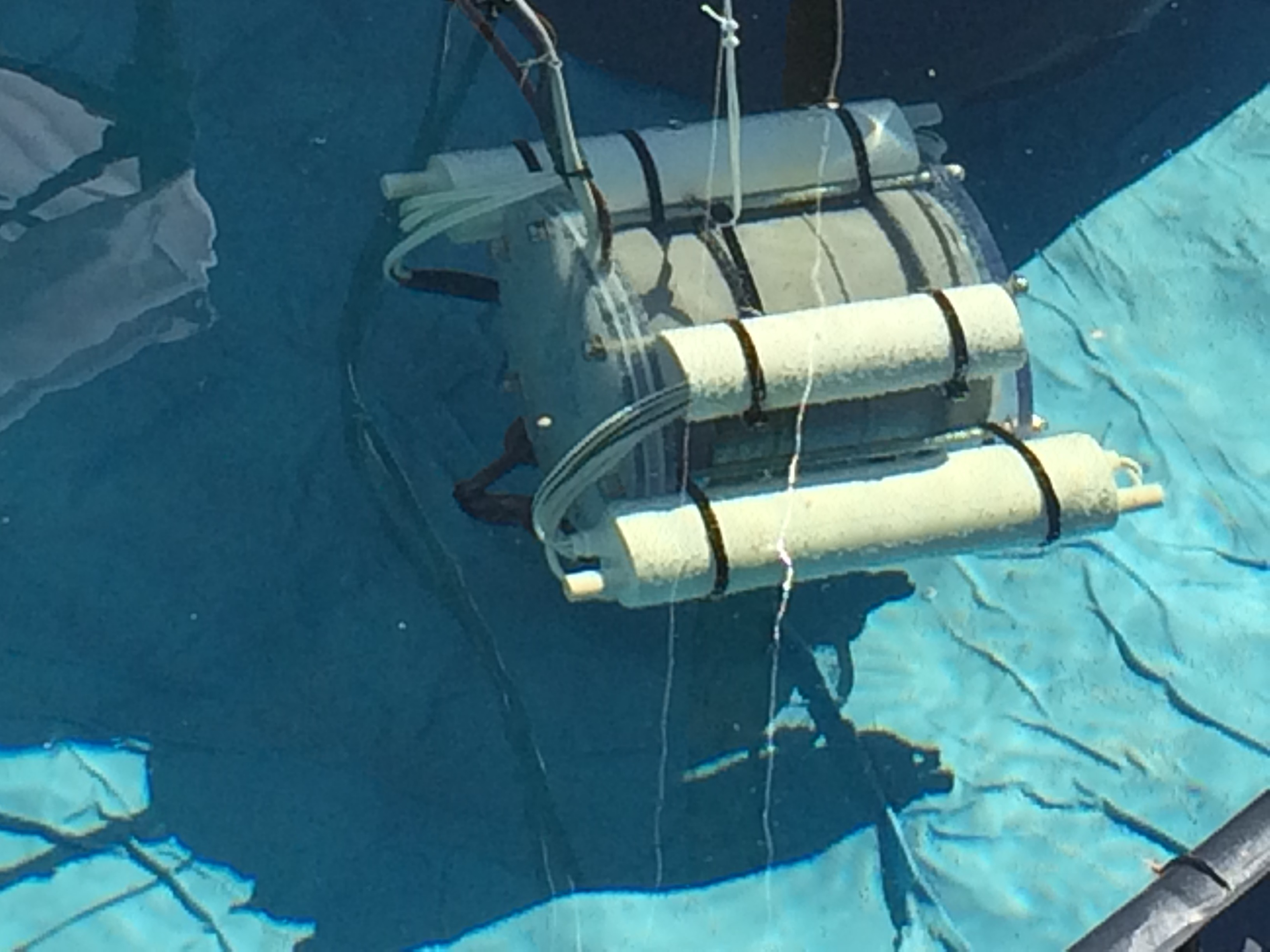 A Raspberry Pi powered underwater ROV at Maker Faire Trondheim