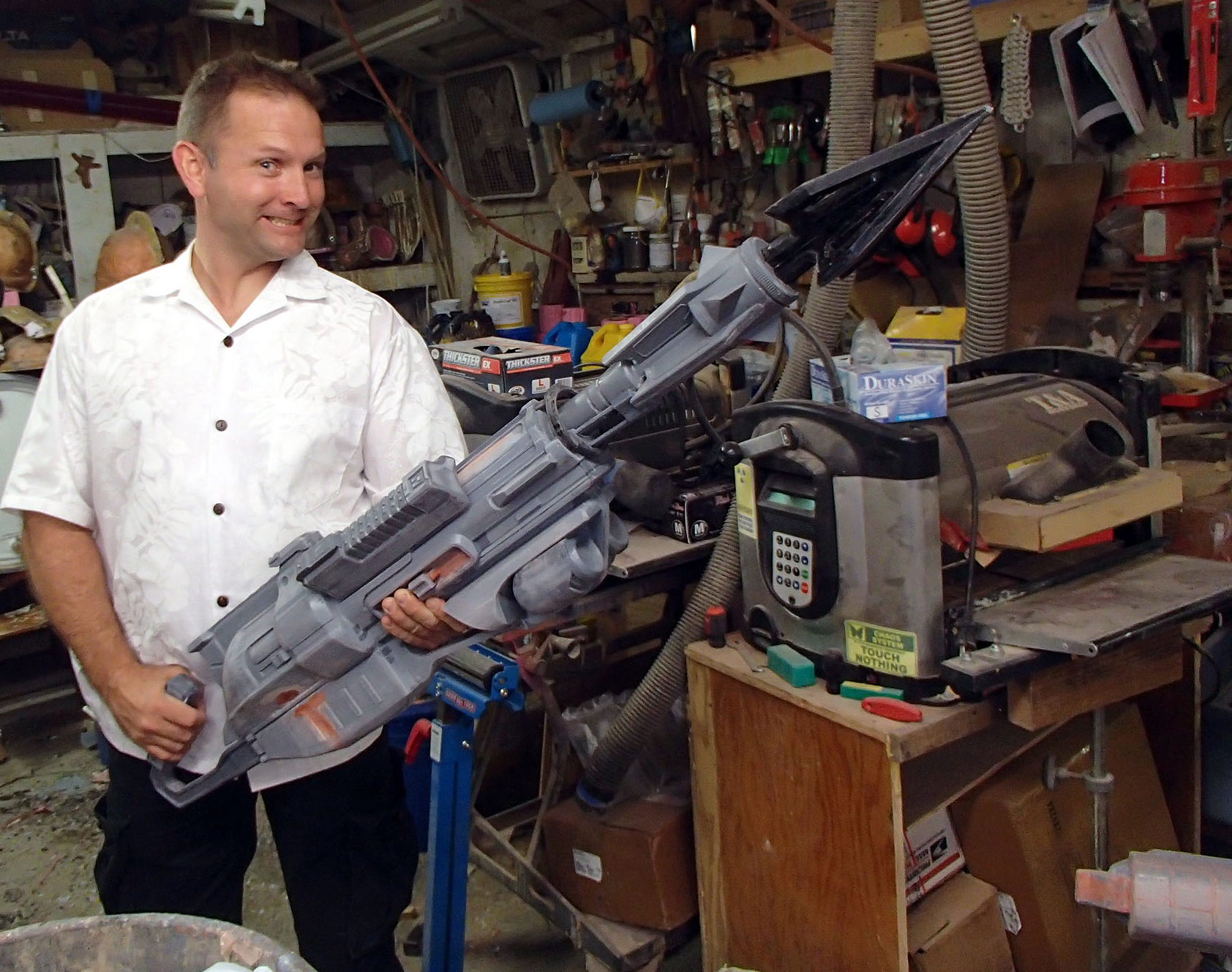 Making videogame weaponry real: The Harpoon Gun from Evolve Pt 2