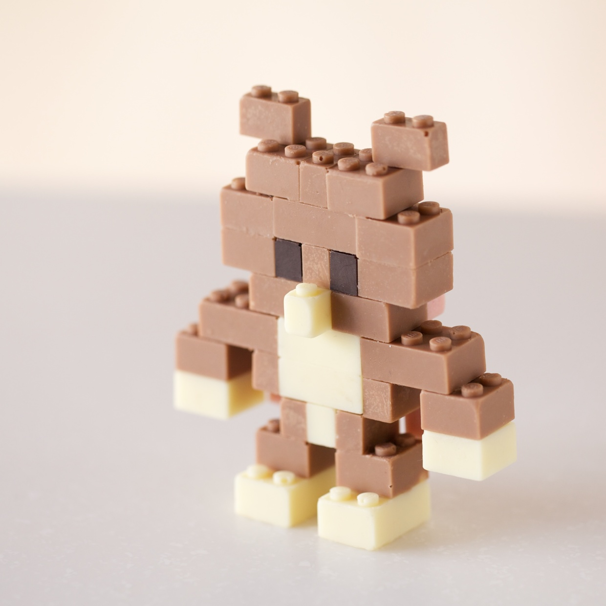 Functional LEGO Models Made from Chocolate