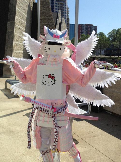 DIY Hello Kitty and Pikachu Samurai Armor