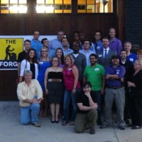"""Founders of """"The Forge"""" at its Grand Opening in Greensboro NC"""