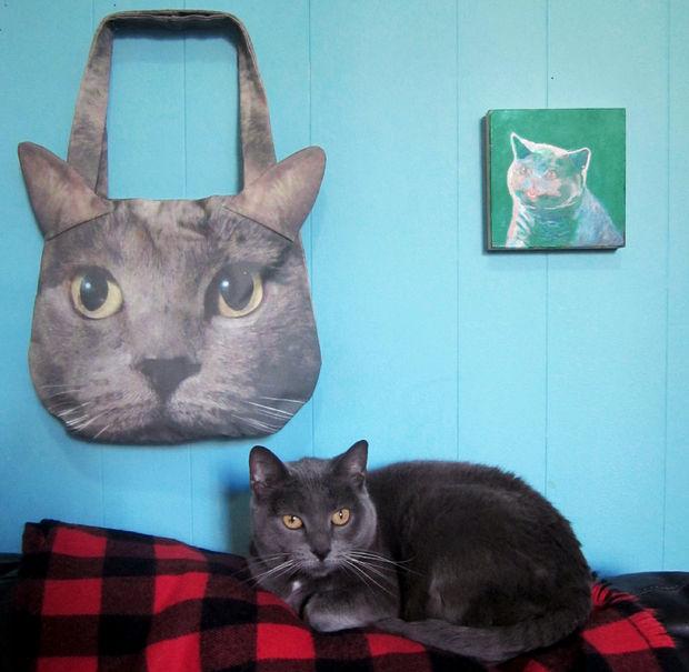 DIY Custom Cat Face Photo Purse
