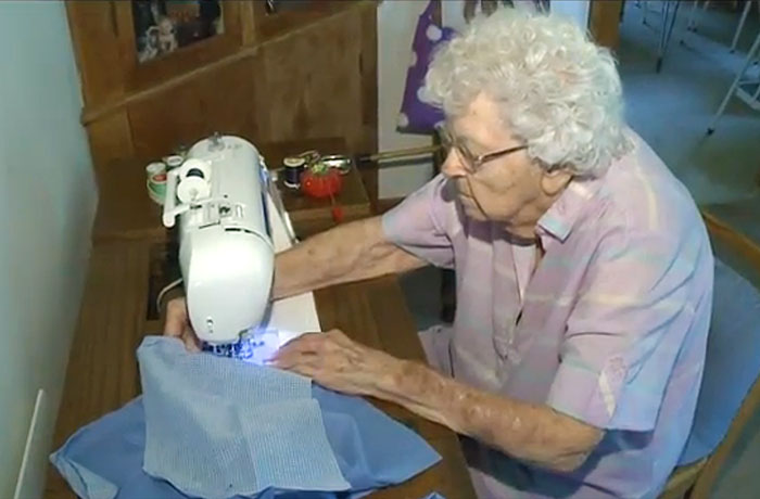 The Woman Who Sews A Dress For Children in Africa Every Day