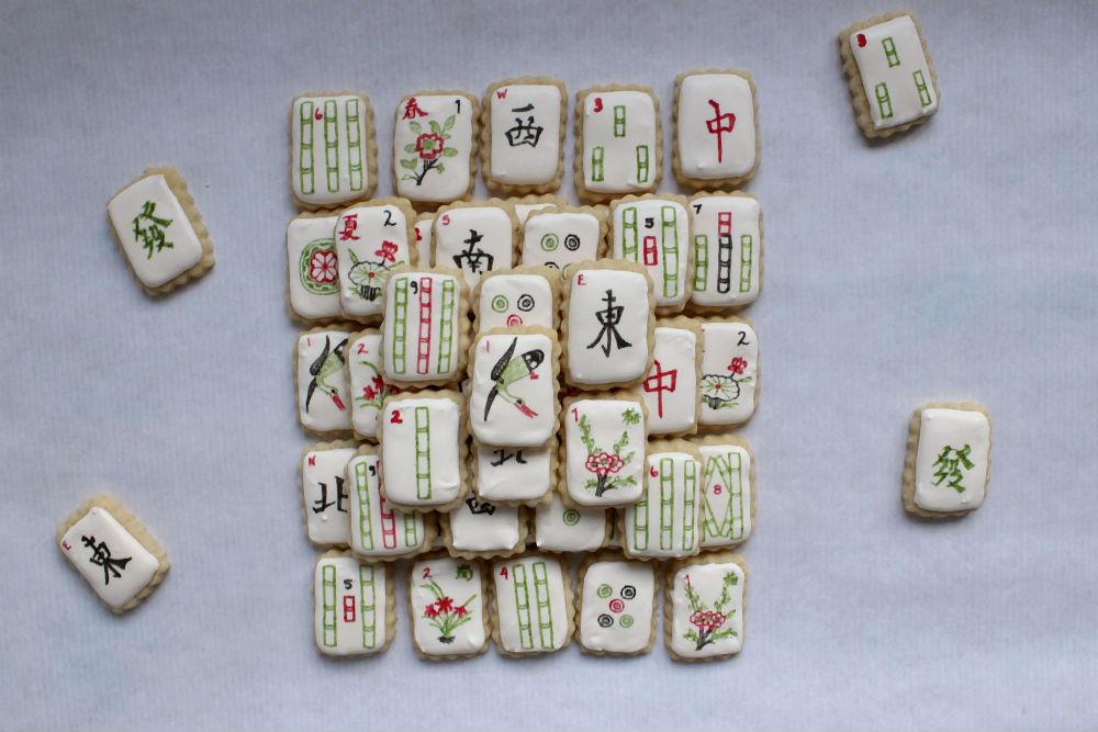 Mahjong Cookies