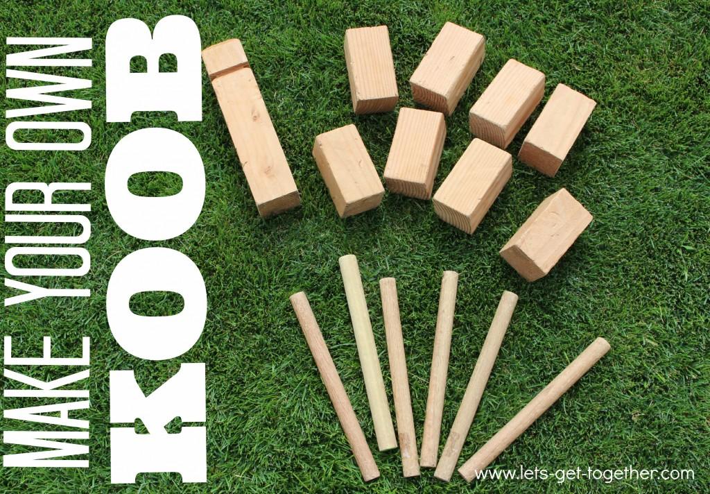 How-To: DIY Koob Lawn Game