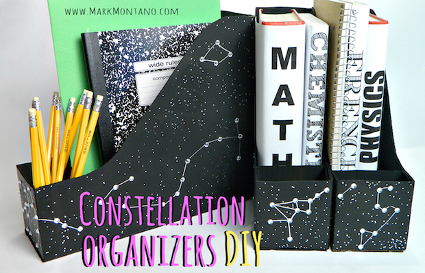 How-To: Constellation School and Office Organizers