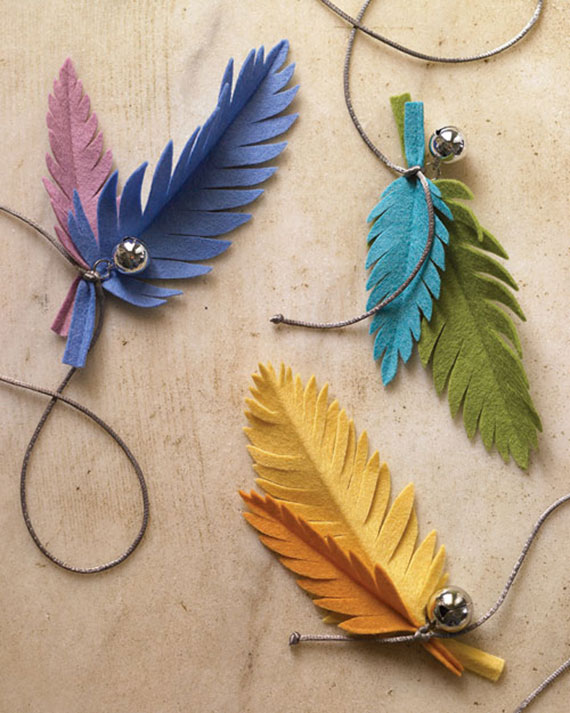 How-To: Felt Feather Cat Toys