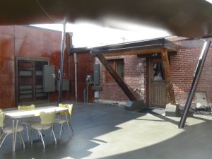 """Out Door Space at """"The Forge"""""""