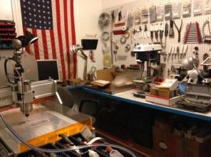 Our home machine shop.