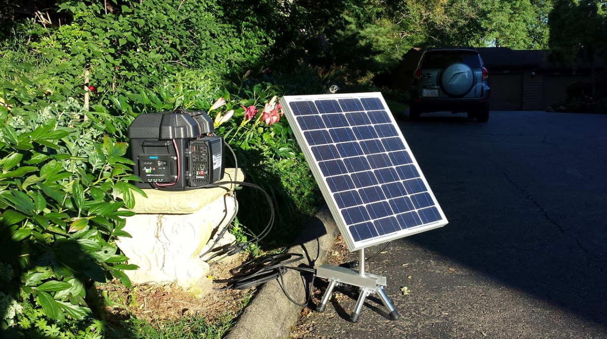Mobile Solar Power Plant