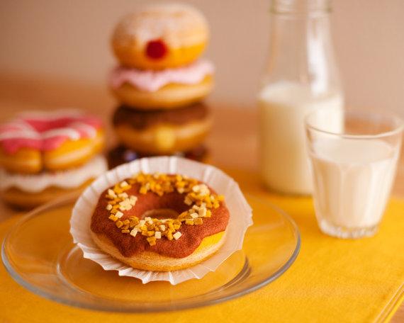 Amazingly Realistic Felt Breakfast Foods
