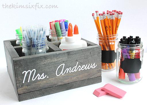 How-To: School Supply Organizer