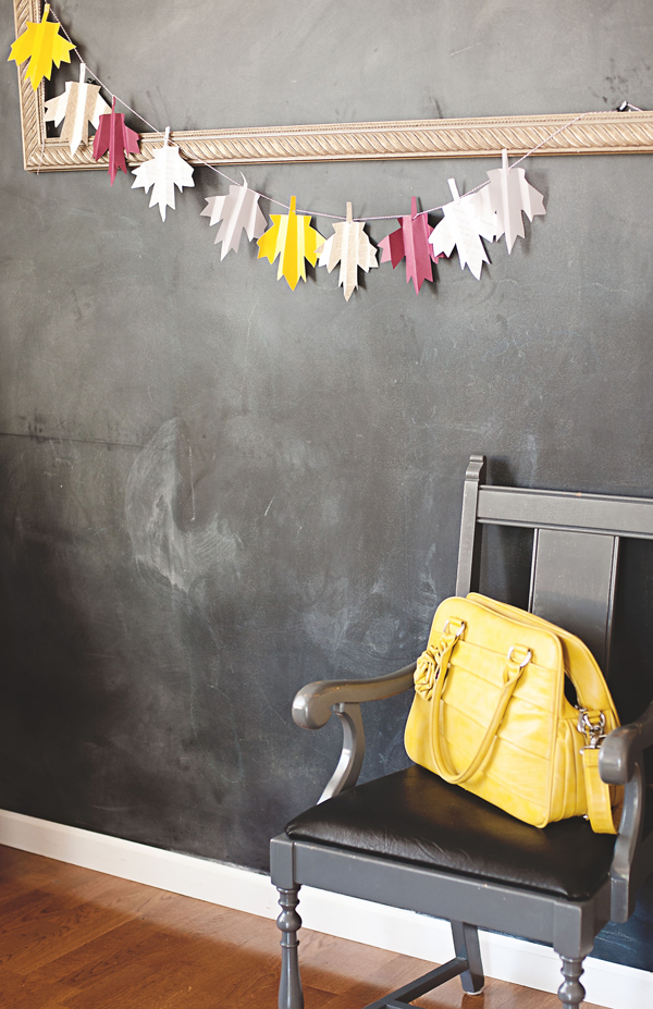 How-To: Folded Maple Leaf Garland