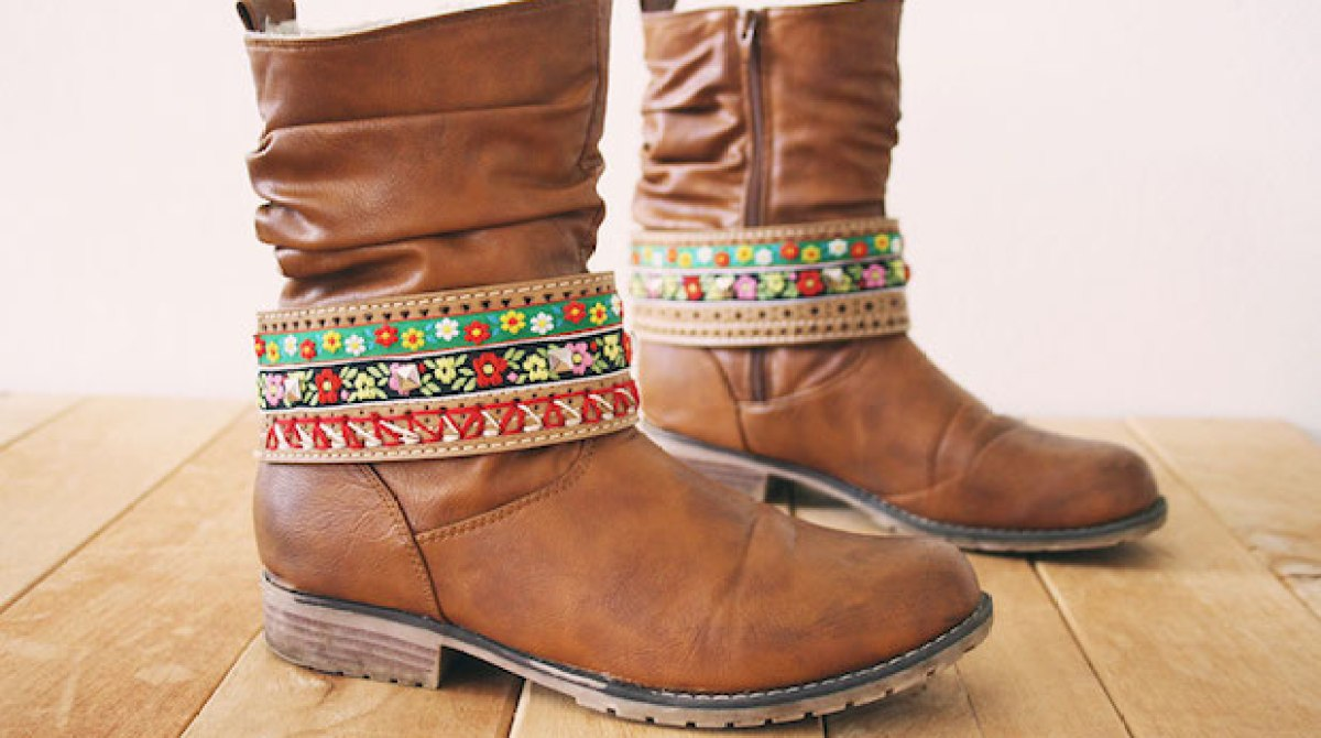 How-To: Stylish DIY Boot Belts