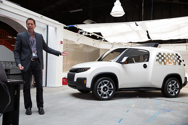 Toyota's Unveils New Maker Vehicle Concept — to Makers