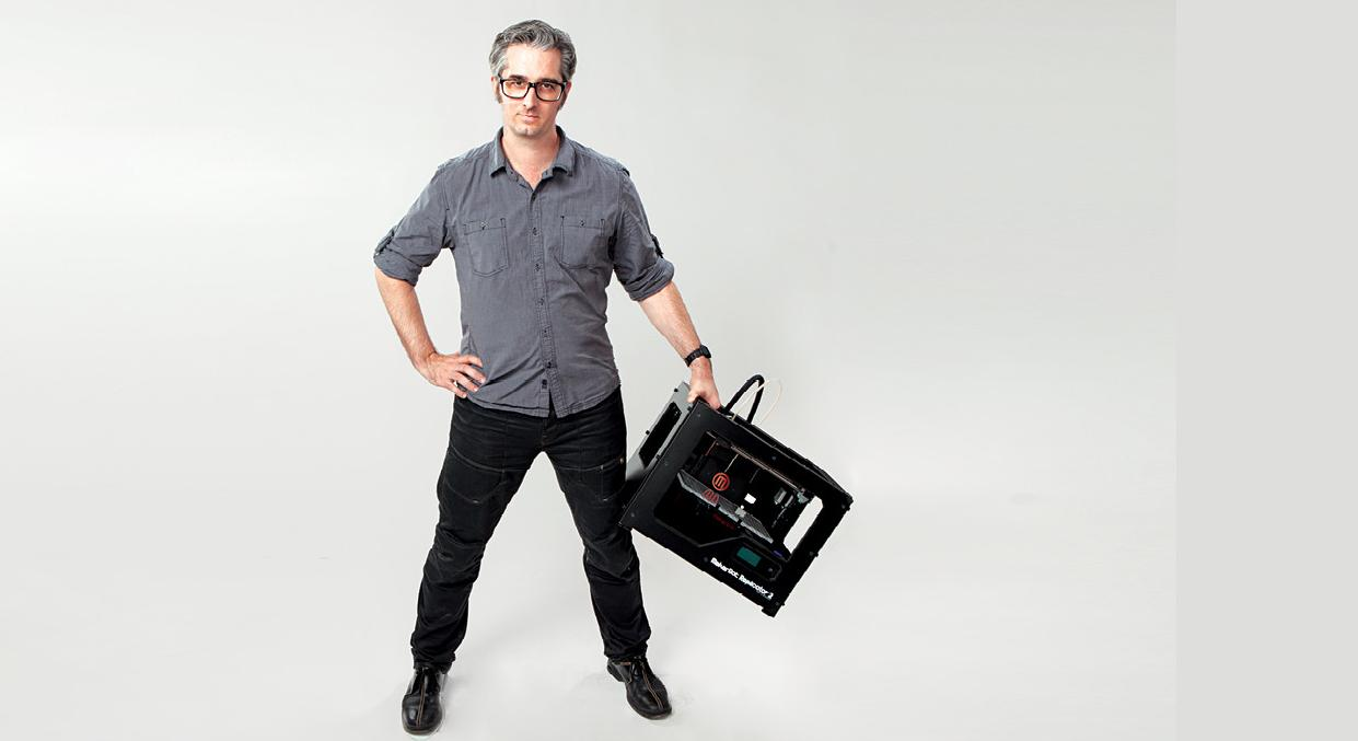 Bre Pettis Stepping Down As CEO of MakerBot To Head Up New Department