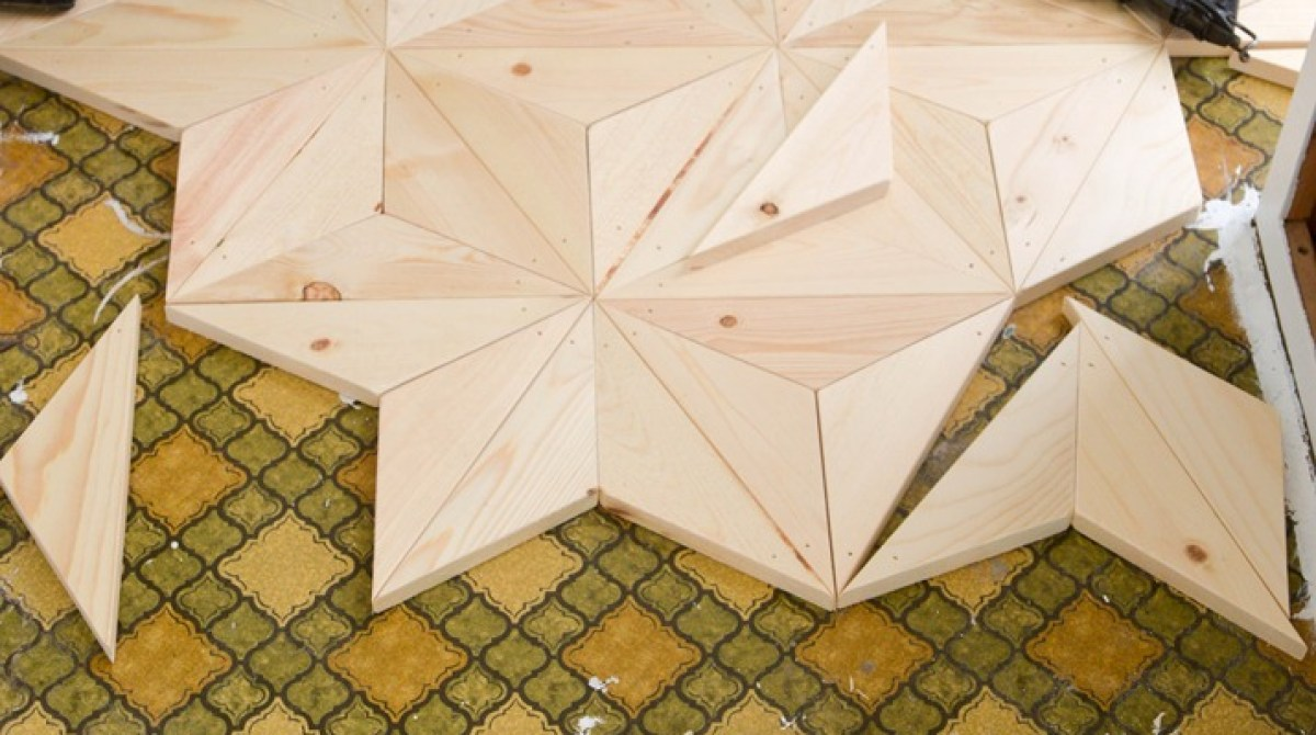 How-To: Geometric Wood Flooring