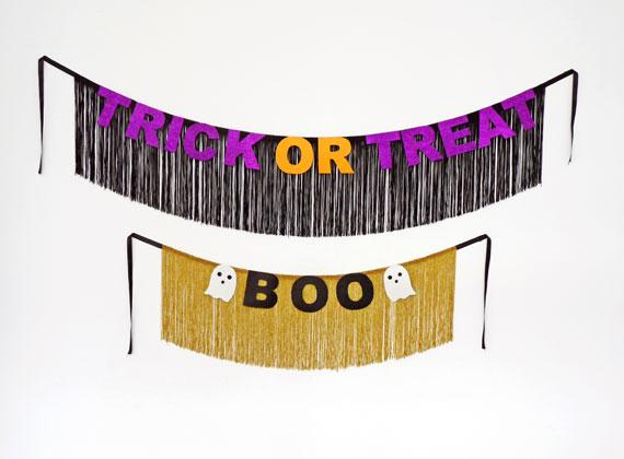 How-To: DIY Halloween Banner