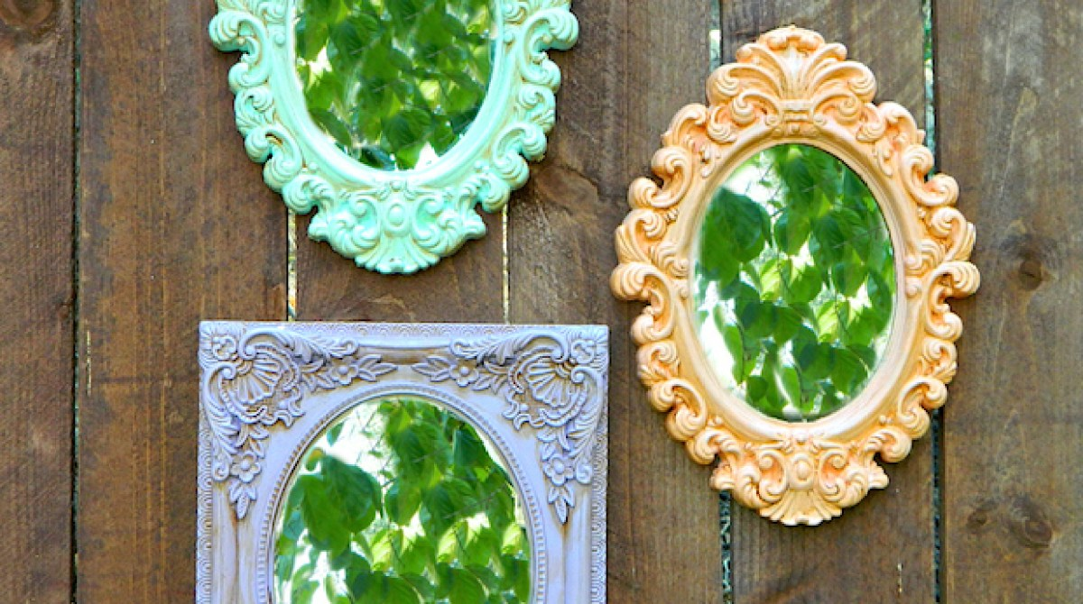 How-To: Dollar Store Picture Frame Makeover