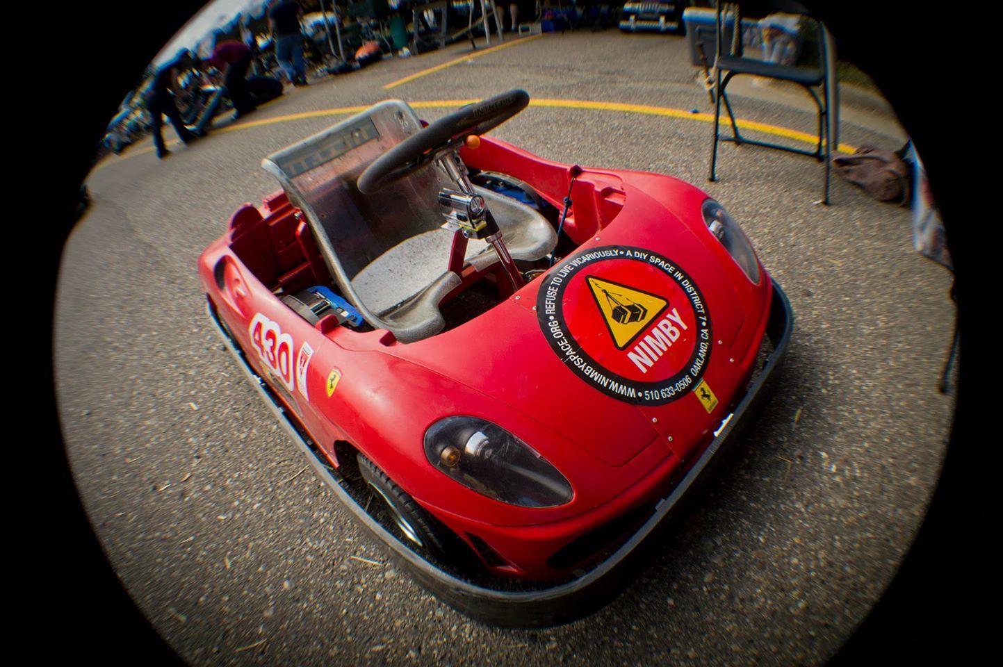 Inside Power Racing Series' Pit Row