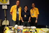 Richard, Joseph and Jim from the Orlando Robotics and Maker Club, which meets monthly at the library downtown.
