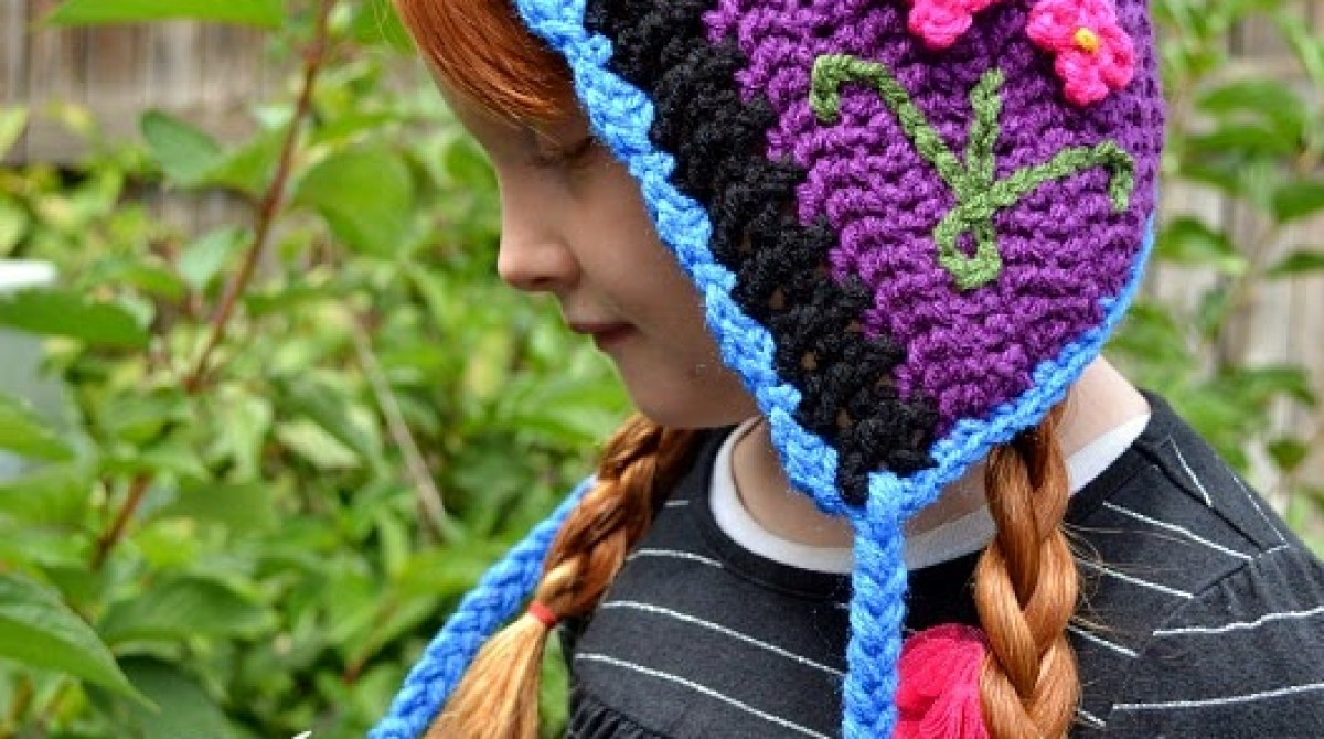 How To Frozen Inspired Chrocheted Princess Anna Hat Make