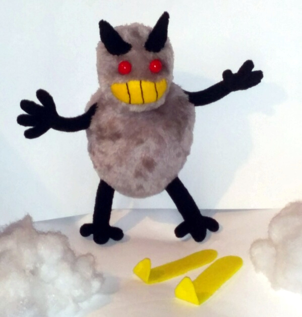 SkiFree Abominable Snow Monster Plushie