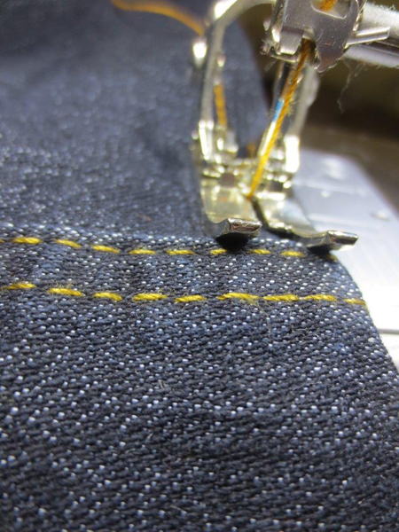 Sewing Tip: 2 Methods for Hemming Jeans
