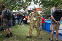 Metro-card man! A favorite at our New York Maker Faire