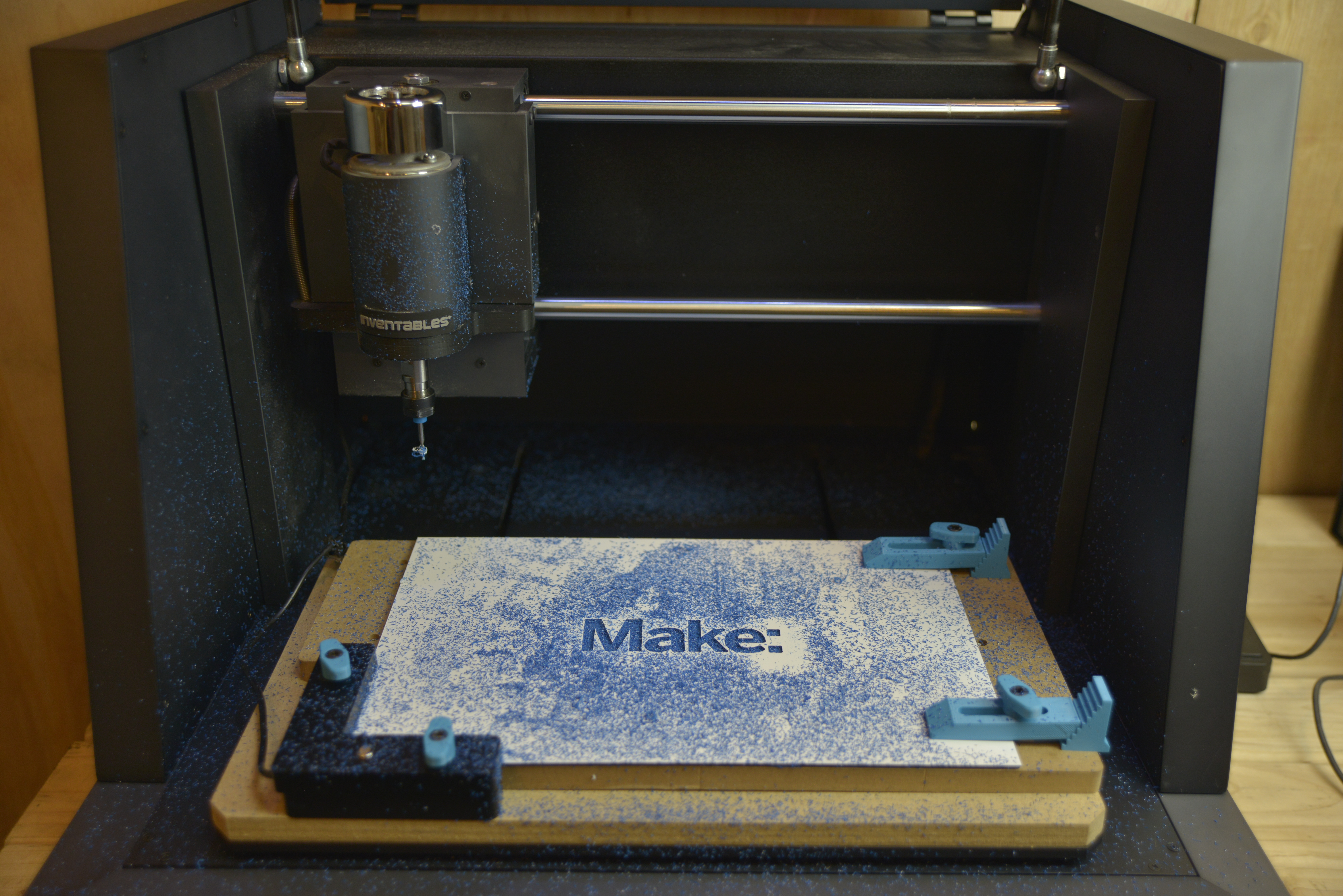 "Exclusive First Look: Inventables' Sleek New ""3D Carving"" Machine Is the Designer's Dream CNC Router"