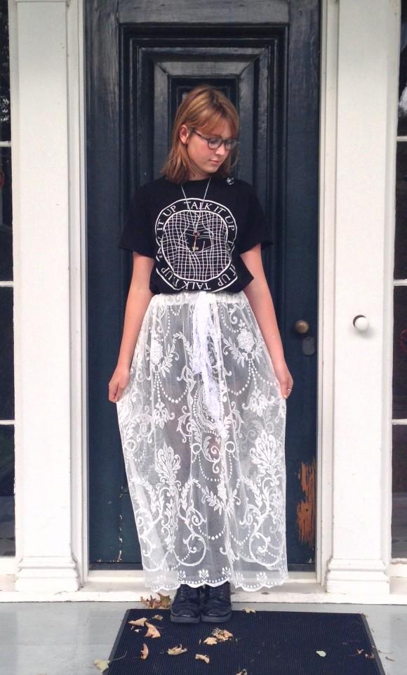 DIY Curtain Skirt