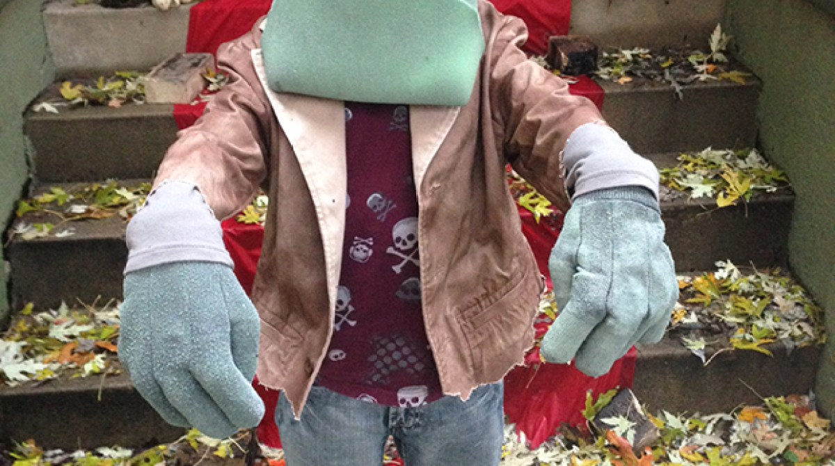 How To: Giant Foam Head Frankenstein's Monster Costume