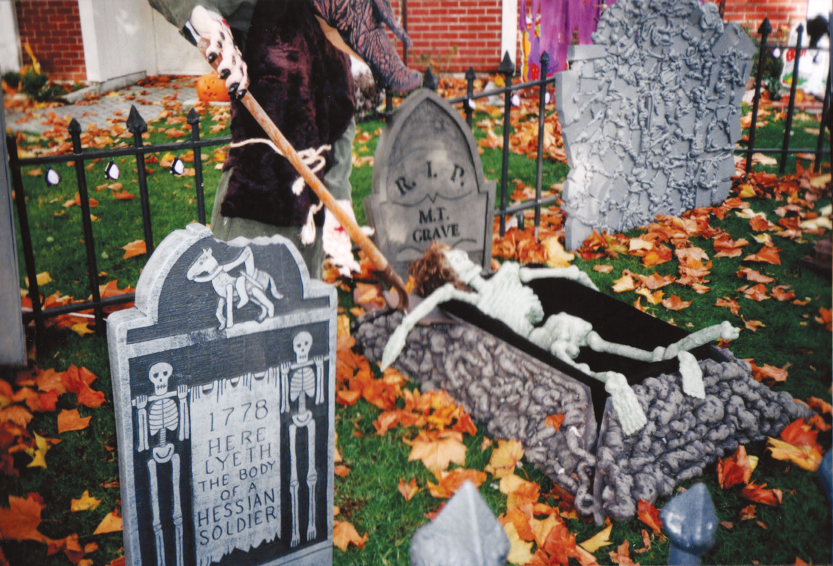 Grave Situation — Make Styrofoam Tombstones