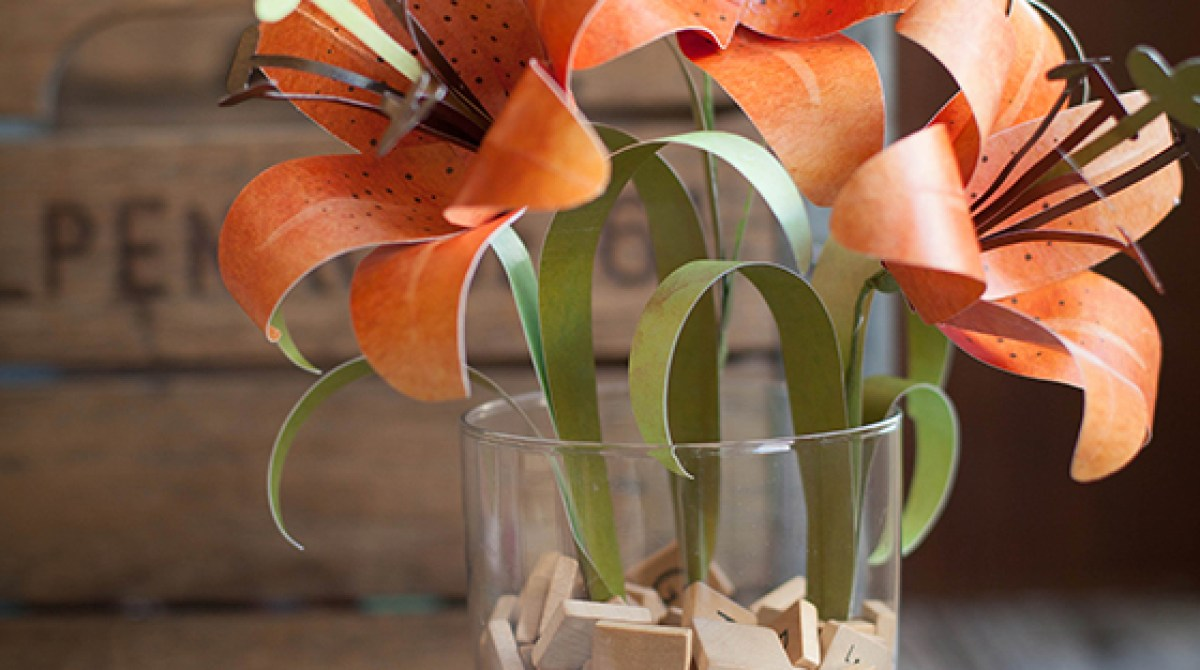 How-To: Paper Tiger Lily