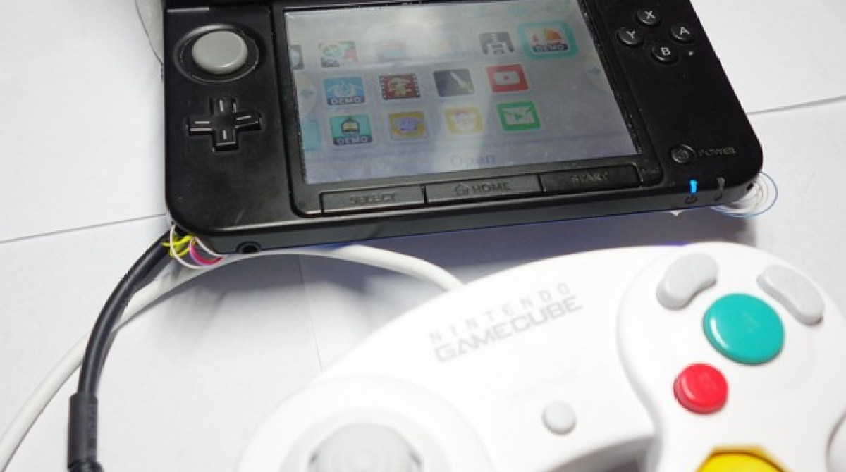 Modded GameCube Controller For Nintendo 3DS | Make: