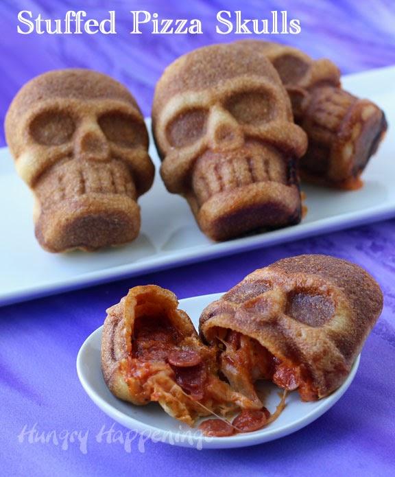Stuffed Pizza Skulls Tutorial