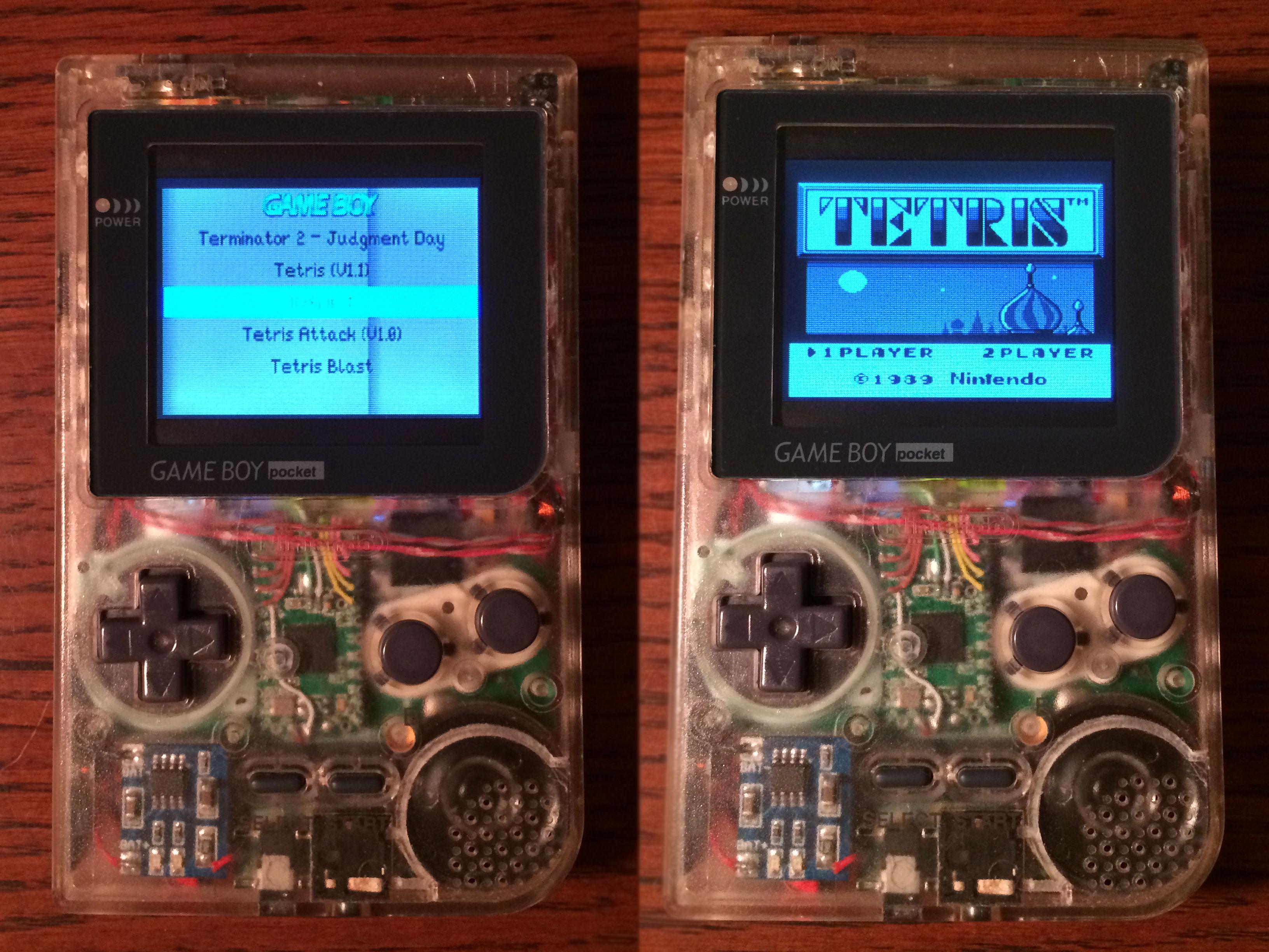 DIY Game Boy Pocket Using the Raspberry Pi