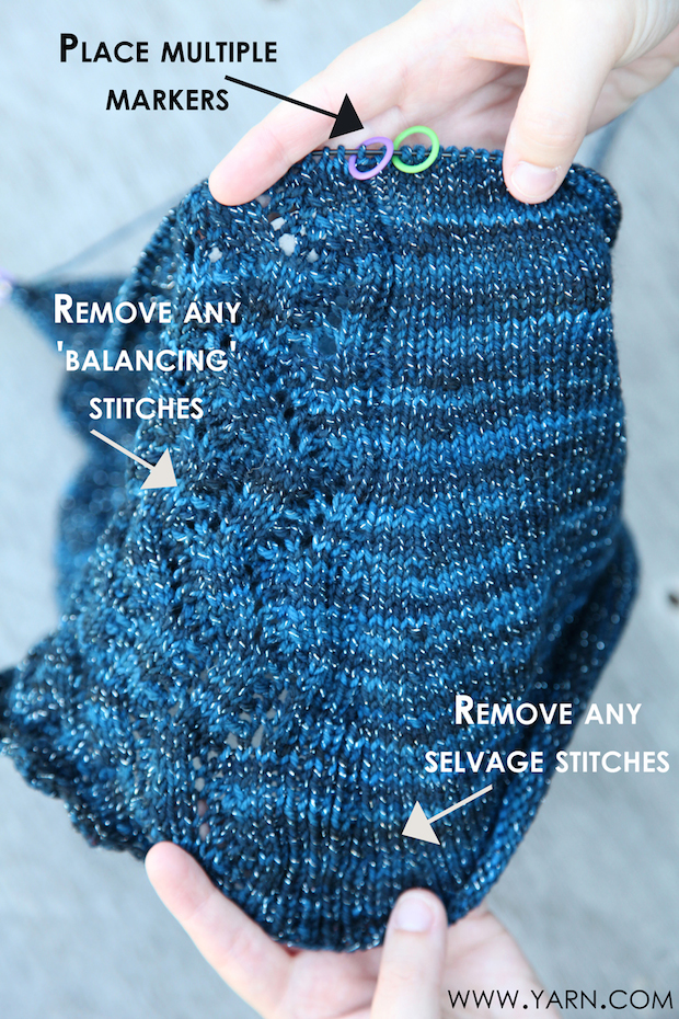 Knitting Tip: Converting a Flat Pattern to In the Round