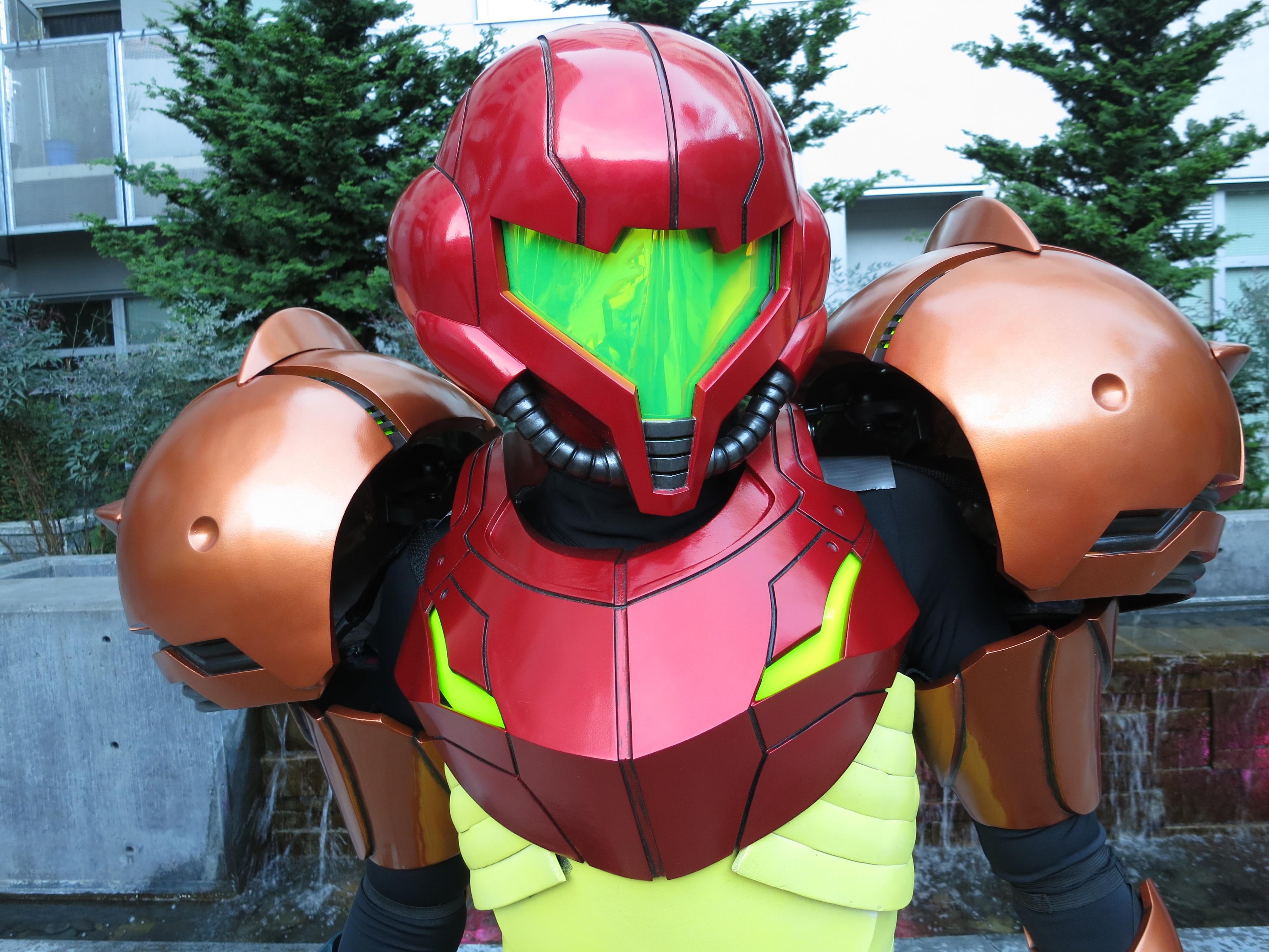 3d Printing A Samus Aran Costume From Metroid Make