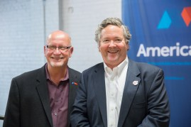 America Makes Founding Director Ralph Resnick and Make's Dale Dougherty