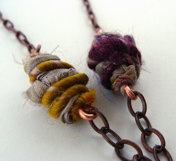 How-To: Wooly Wire-Wrapped Beads