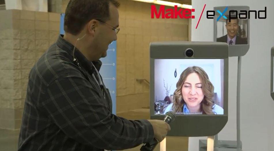 Engadget Expand: Beam Robotic Telepresence