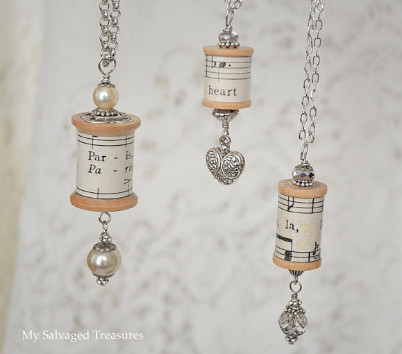 How-To: Wooden Spool and Cork Ornaments