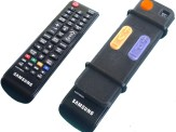 TV Remote adaptor for seniors