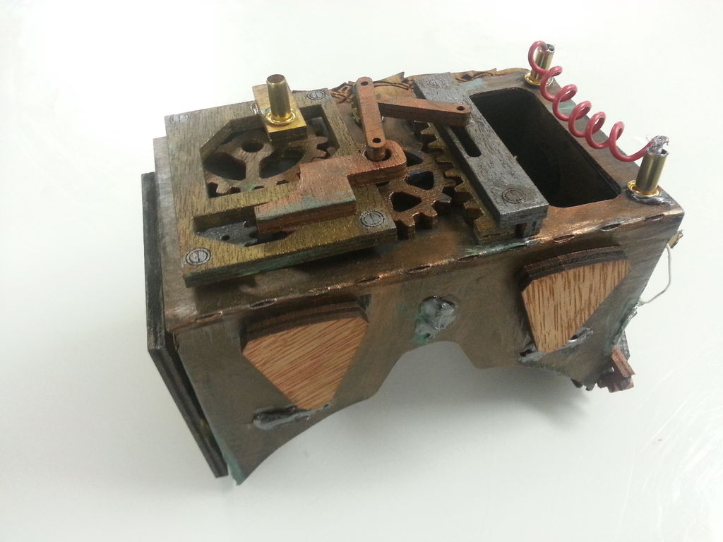 Steampunking a VR Headset