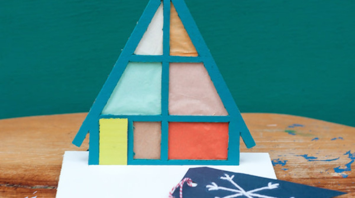 How-To: Modern Holiday Pop-Up Cards