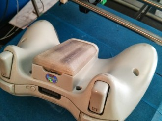 XBox 360 wireless controller AA battery holder