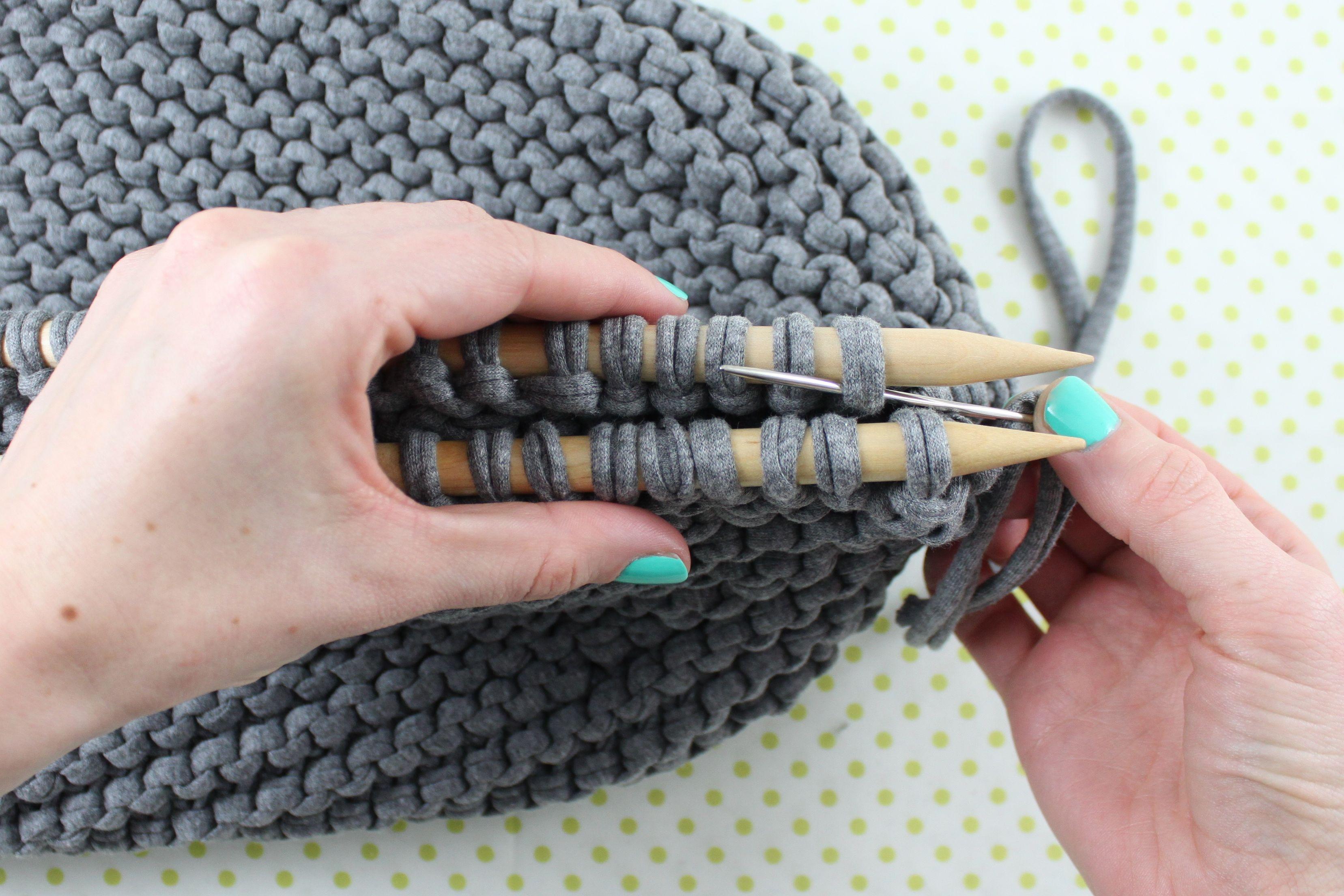 Knitting Tips: How to Work Kitchener Stitch in Garter Stitch