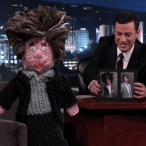 Knitted Patrick Dempsey