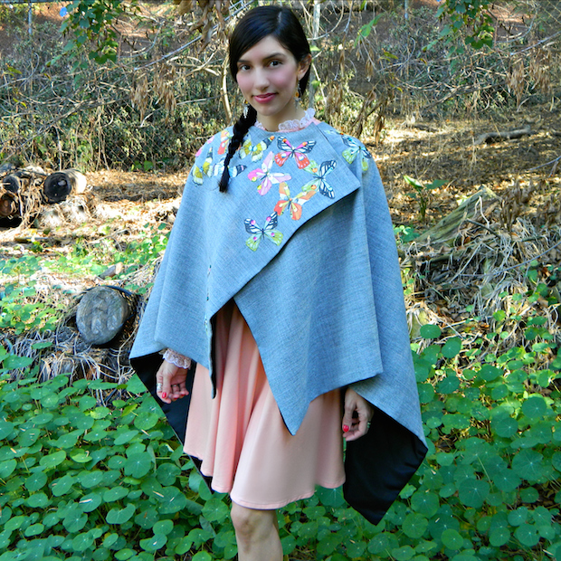 How-To: Easy-to-Make Butterfly Cape